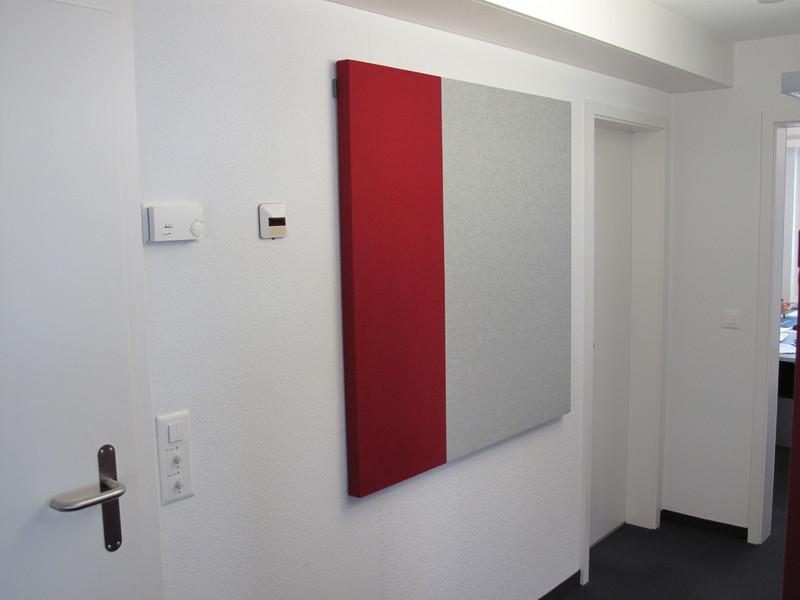 rojo y gris