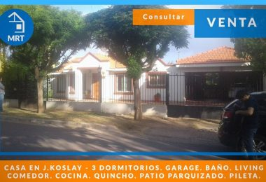 casa venta 3 dormitorios juana koslay san luis